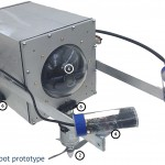 radiation resistant robot