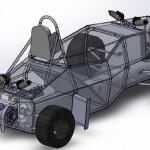 11 FSAE chassis