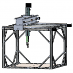 2-5-axis cnc scanner
